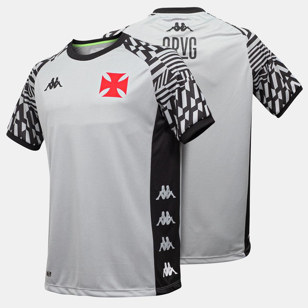 Camisa Vasco Treino Comissão Tamanho Especial Kappa 2021