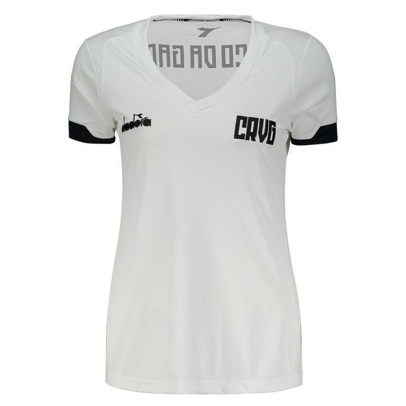 Camisa Vasco Treino Feminina C.T - DIADORA 2019