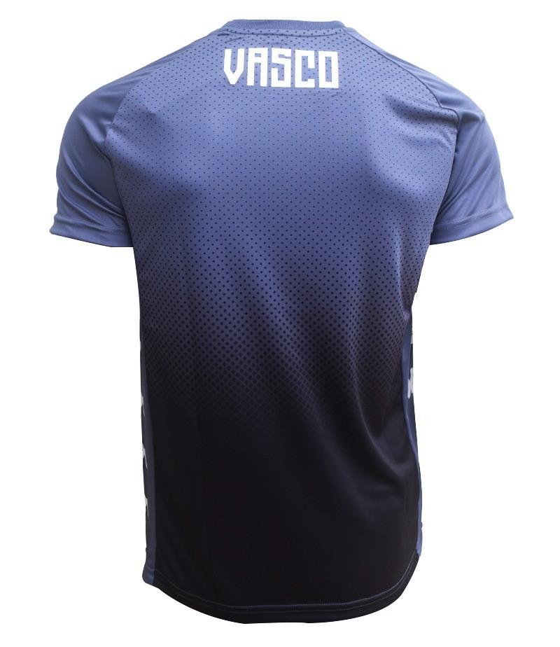 Camisa Vasco Treino Grafite - Kappa 2020