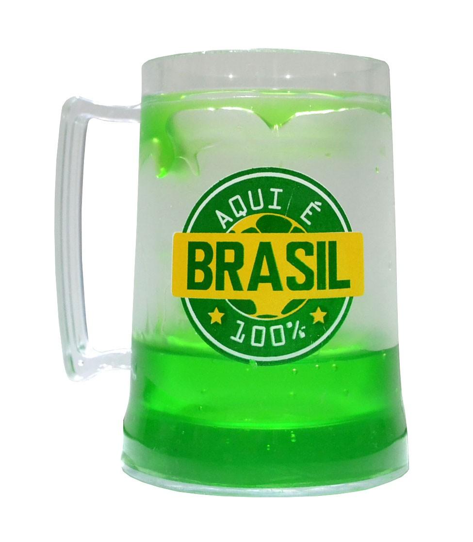 Caneca gel Brasil