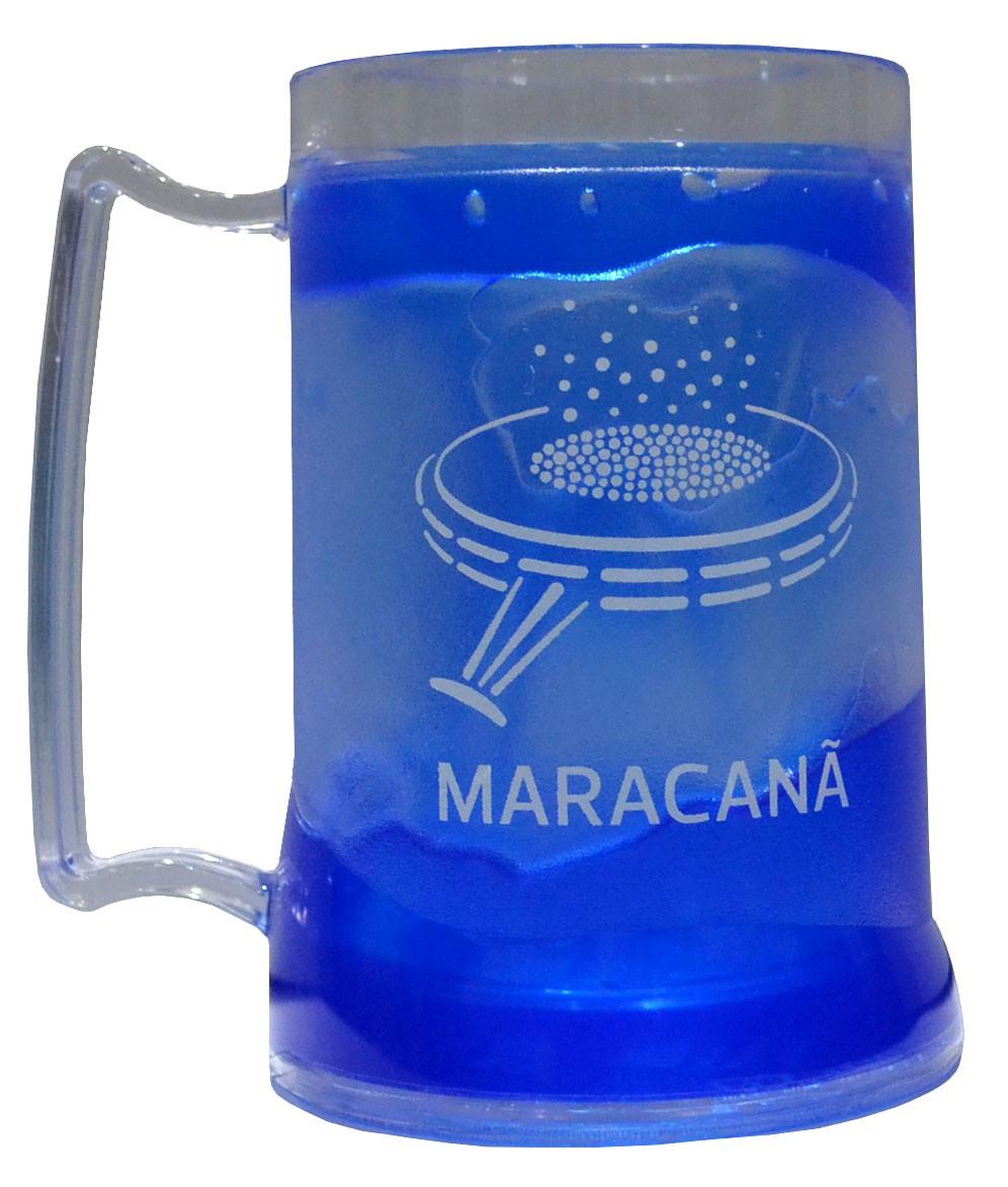 Caneca gel maracanã - Azul