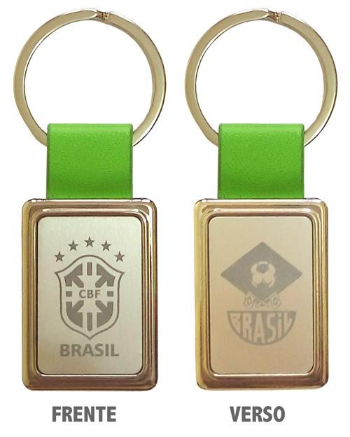 Chaveiro Brasil CBF .
