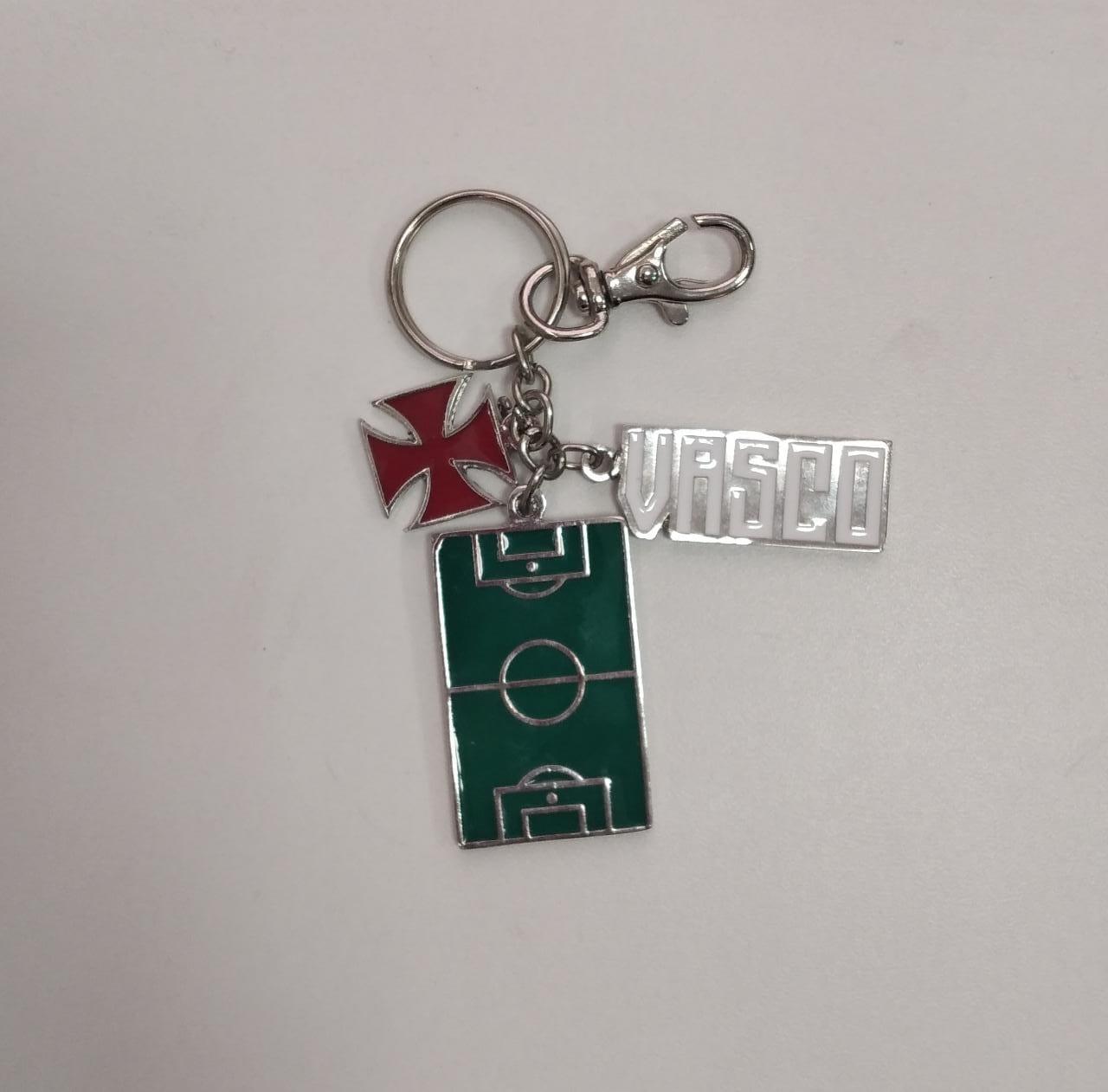 Chaveiro Vasco Campo de Futebol - Modelo 05