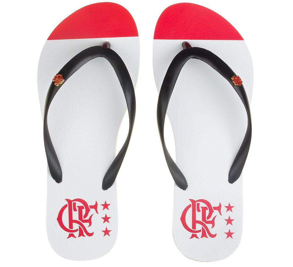 Chinelo Flamengo feminino manto 2 slim 1981