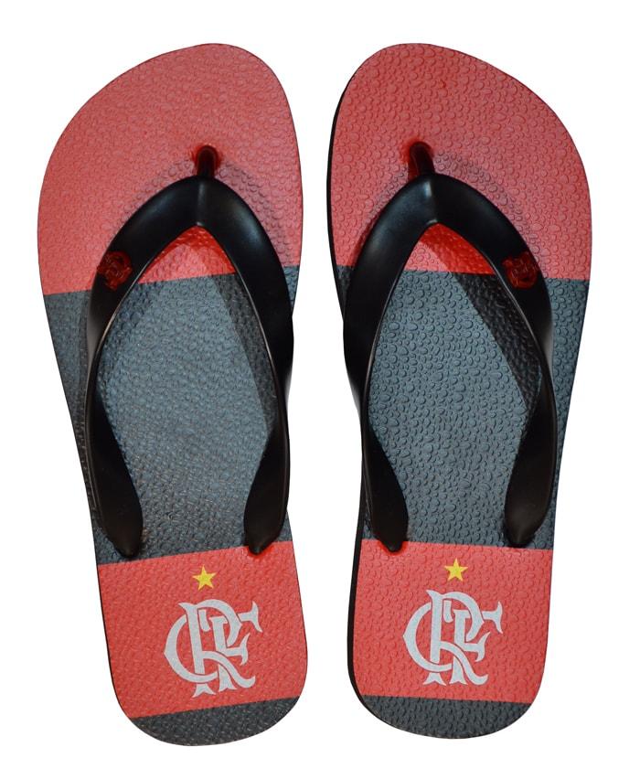 Chinelo Flamengo manto 1