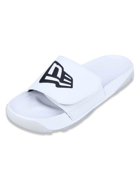 Chinelo slip-on Branded New Era - Branco