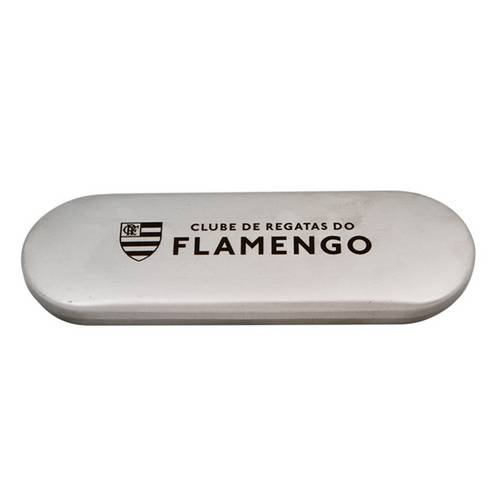 Conjunto com caneta e lapiseira na caixa Flamengo
