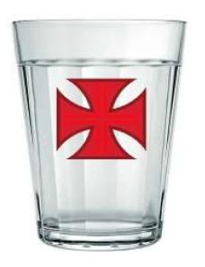 Copo Americano Vasco Cruz De Malta