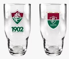 Copo Fluminense Draft C/2 Na Luva