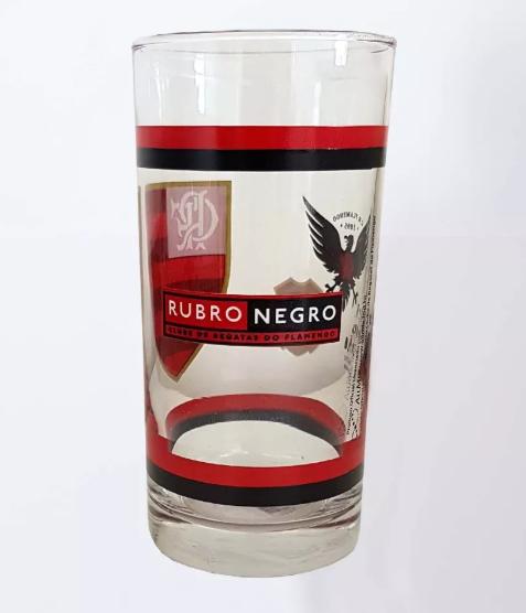 Copo long drink Flamengo na caixa