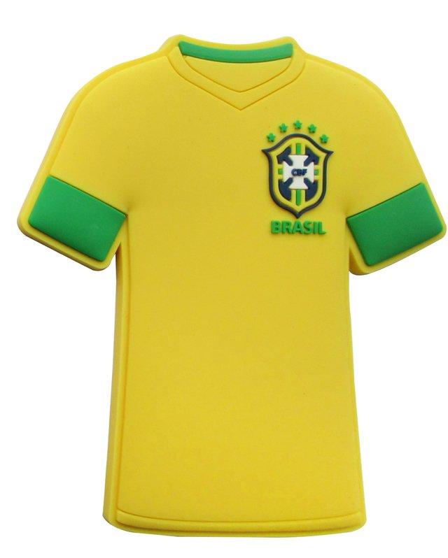 Ímã de geladeira camisa Seleção 1 Brasil