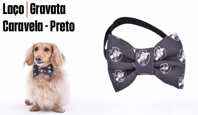Laço / Gravata Vasco Caravela - Preto
