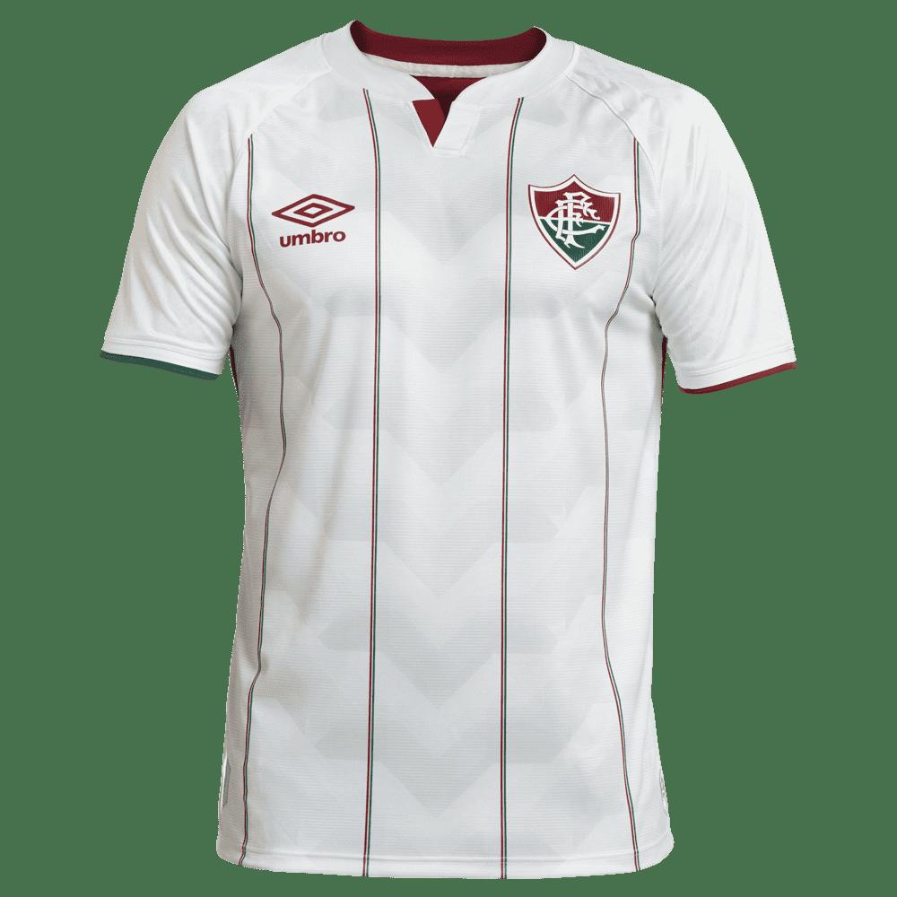 LANÇAMENTO - Camisa Fluminense Jogo 2 Juvenil - Umbro 2020