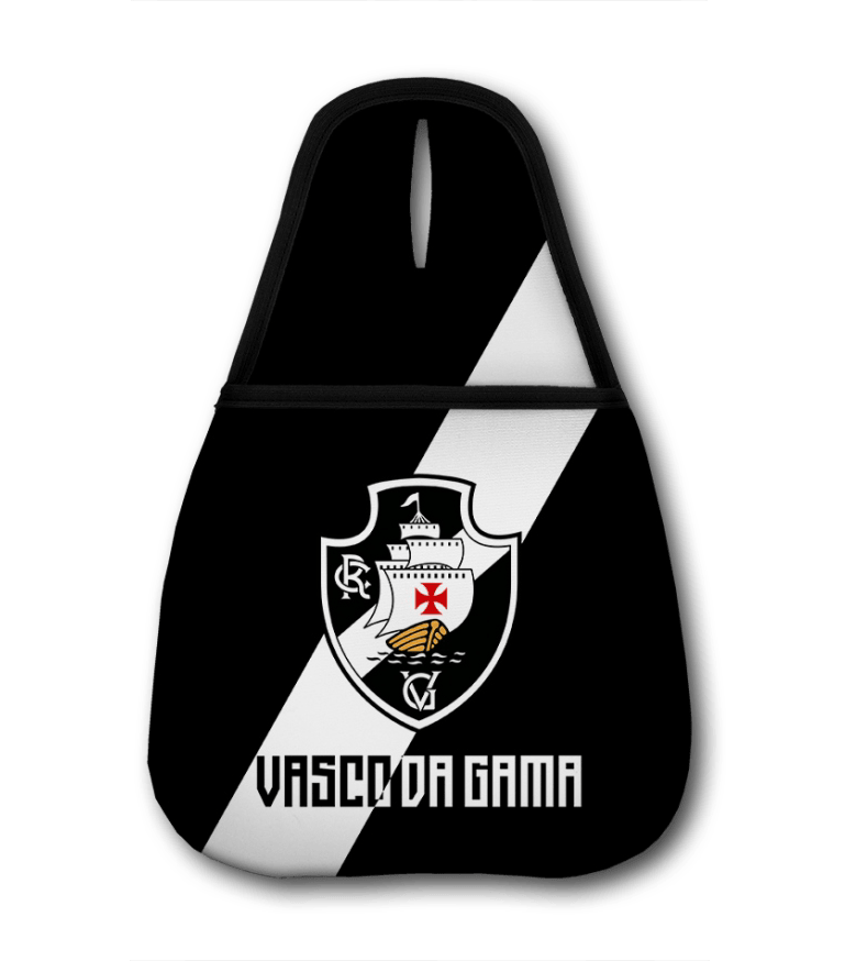 Lixeira Para Carro Vasco - Escudo Faixa
