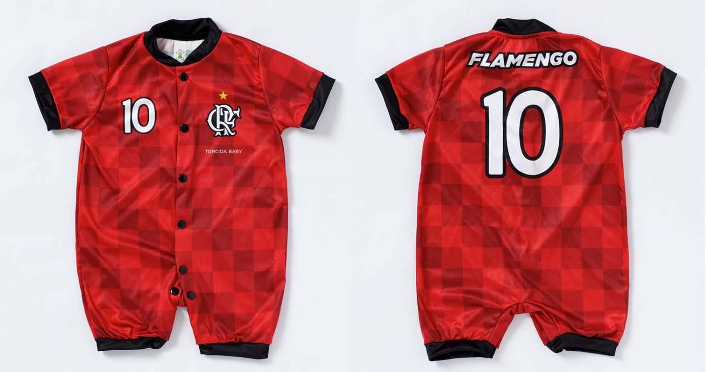 Macacão Flamengo estilo