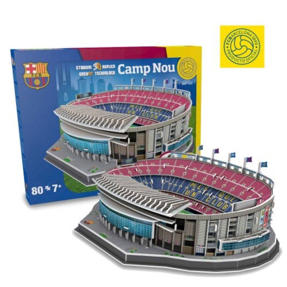 Maquete 3D Oficial - Estádio Camp Nou - Barcelona