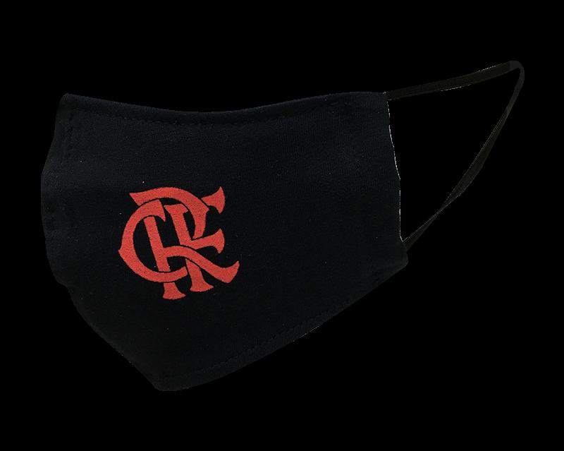 Máscara Flamengo Preta