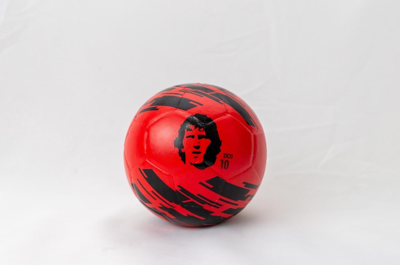 Mini Bola Flamengo - Zico