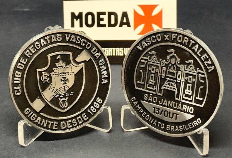 Moeda do jogo Vasco x Fortaleza