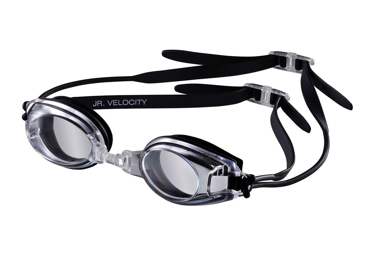 Óculos de natação JR Velocity Speedo - Preto/Cristal