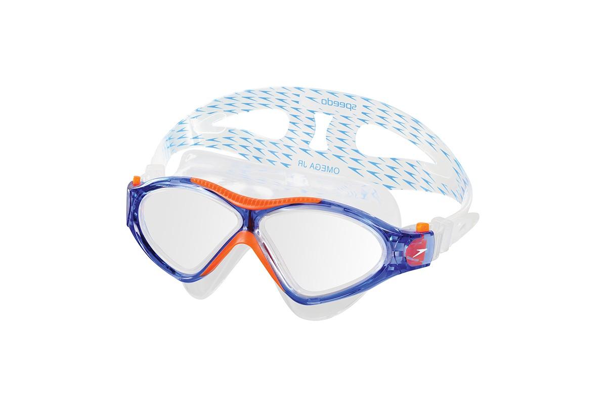 Óculos de natação Omega SF Speedo - Azul/Cristal