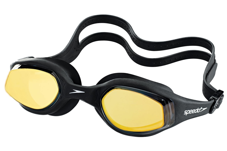Óculos de natação Tempest Mirror Speedo - Preto/Espelhado