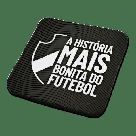Porta Copo Vasco - Escudo Vazado
