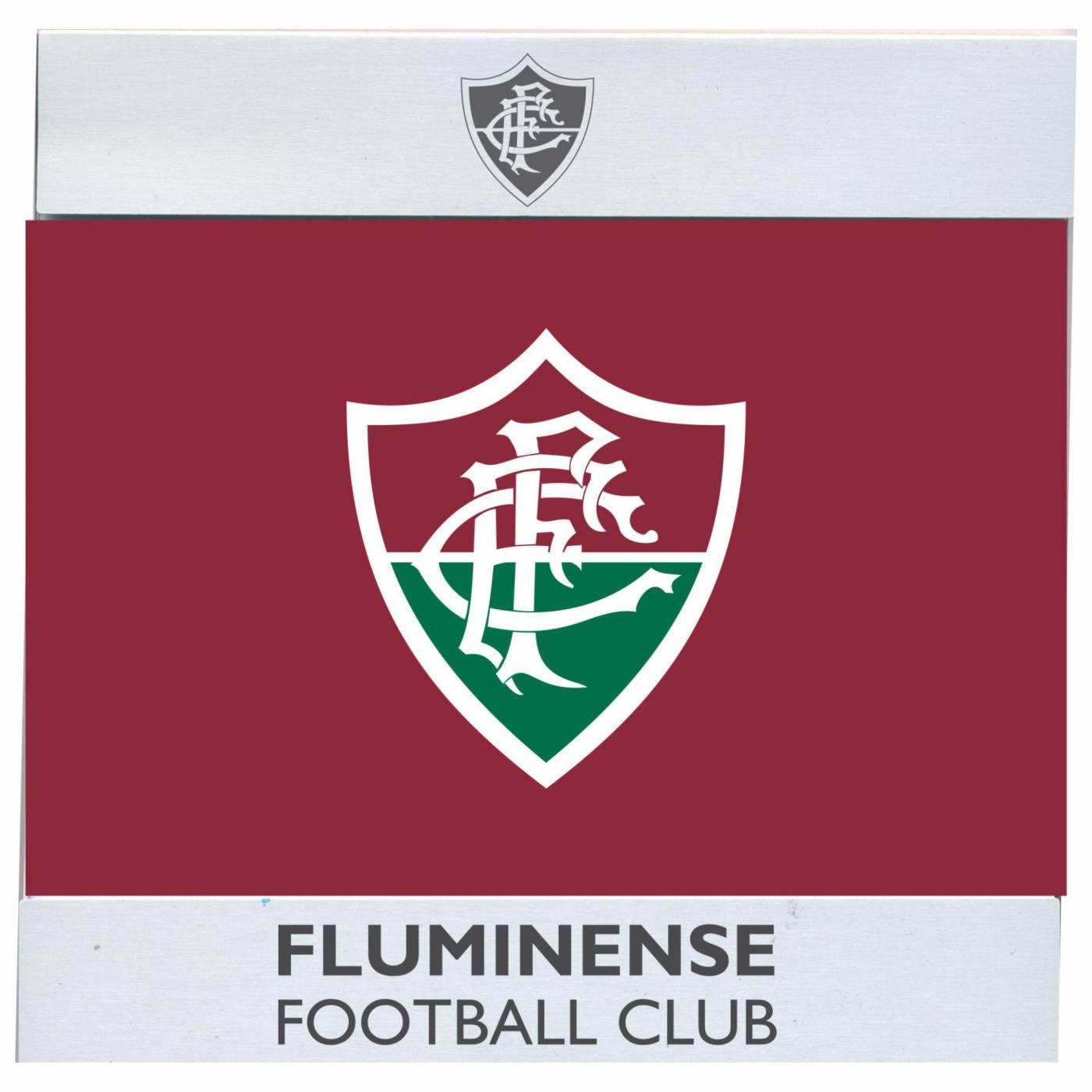Porta - retrato Fluminense escudo
