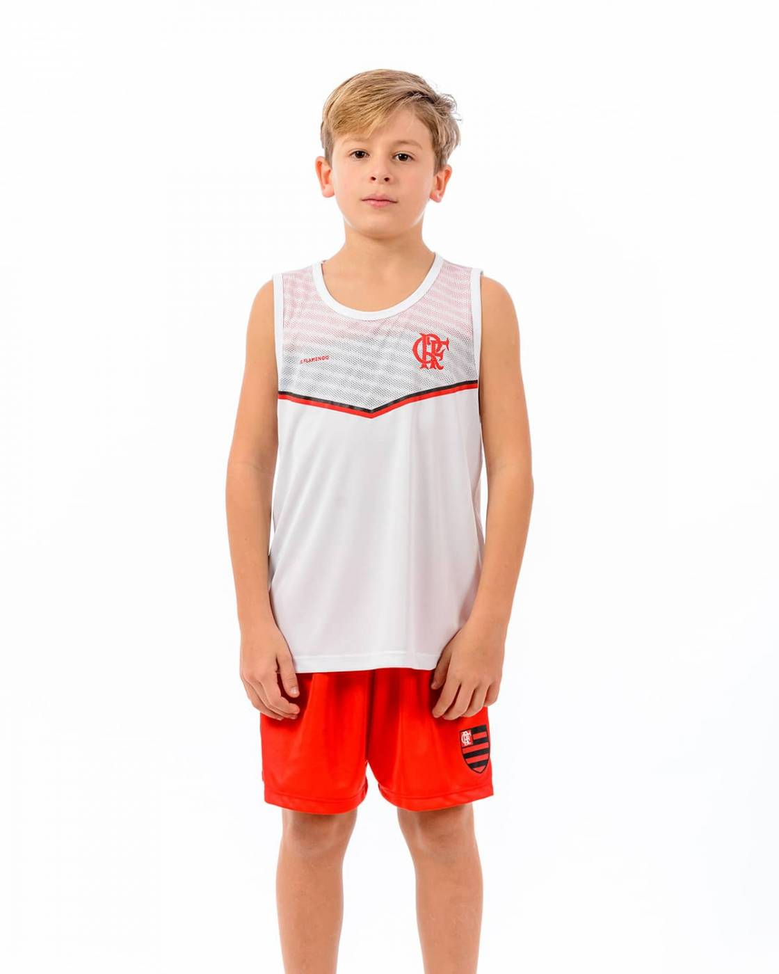 Regata Flamengo infantil Cover