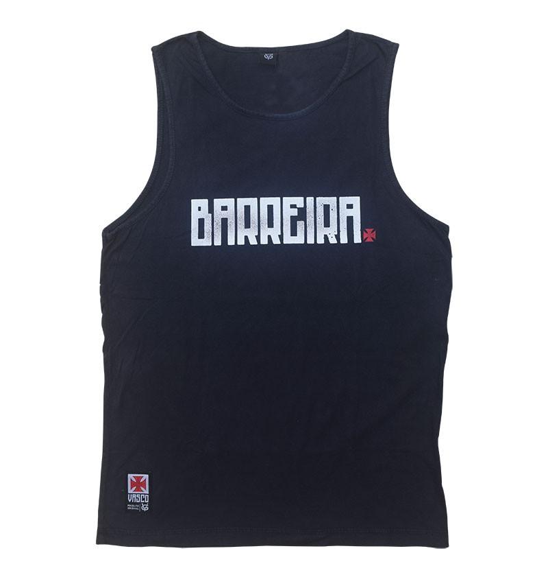 Regata Vasco Barreira Cinza - VG