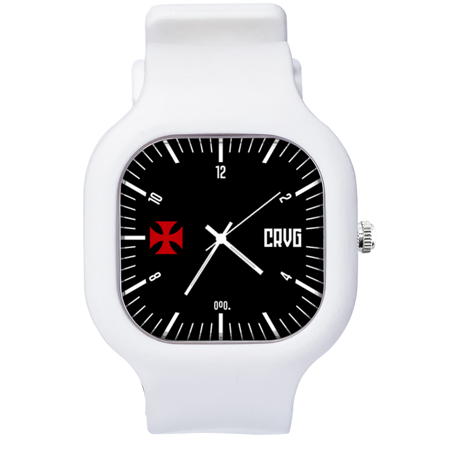 Relógio Classic Vasco Black - Blanc