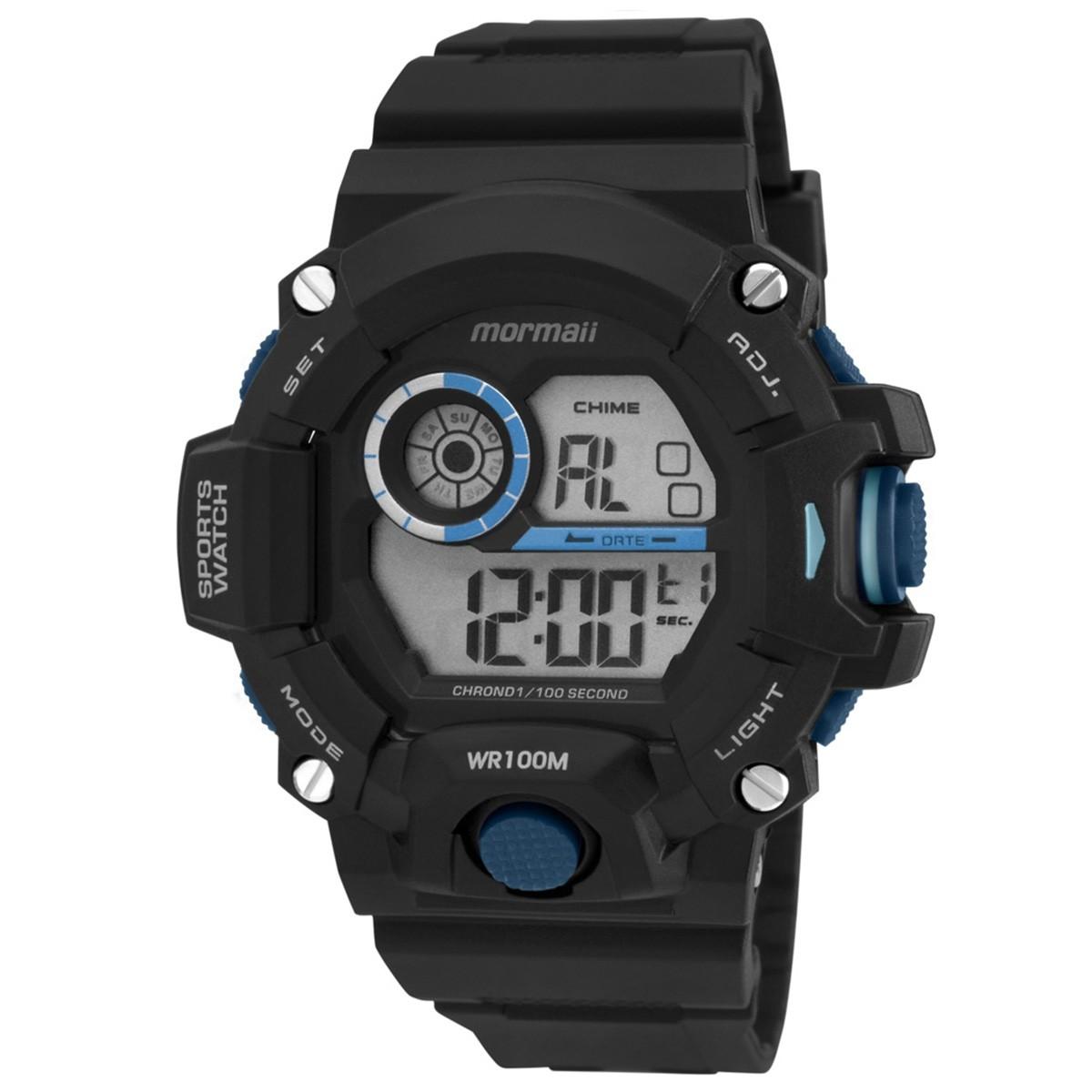Relógio Mormaii digital Acqua - MO3412/8A