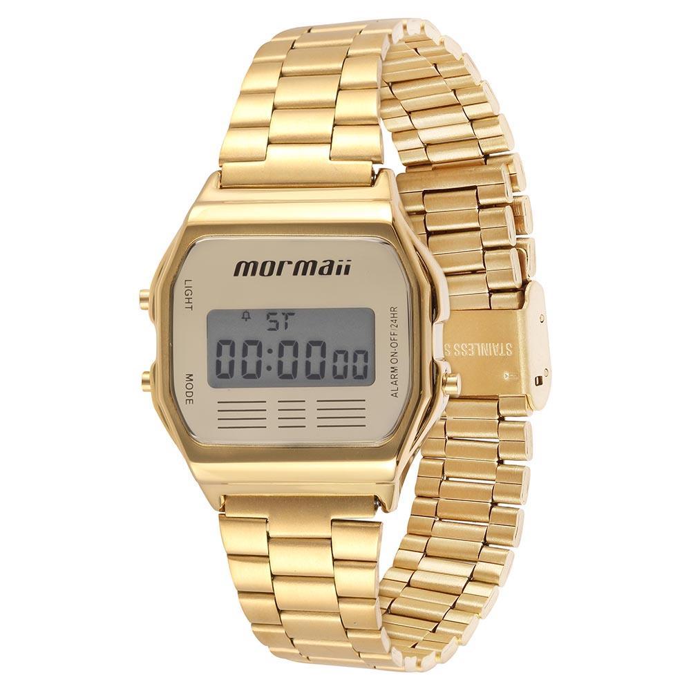 Relógio Mormaii vintage digital - MOJH02AB/4d