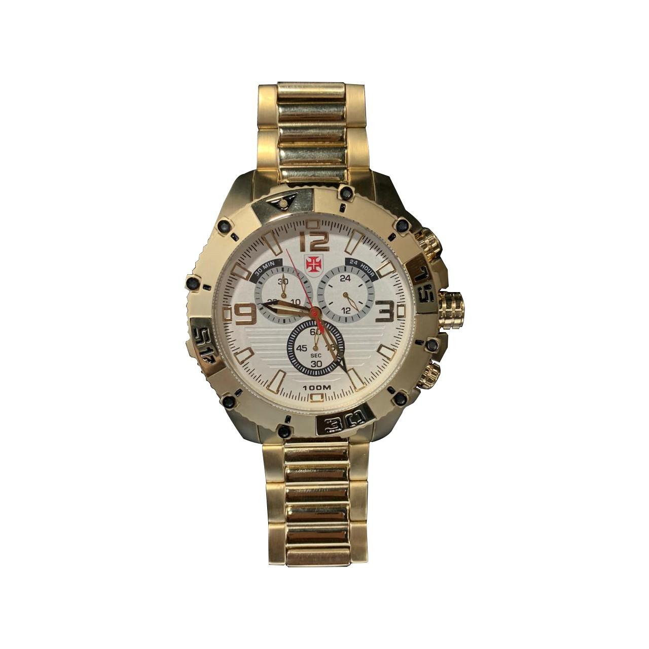 Relógio Vasco - Dourado