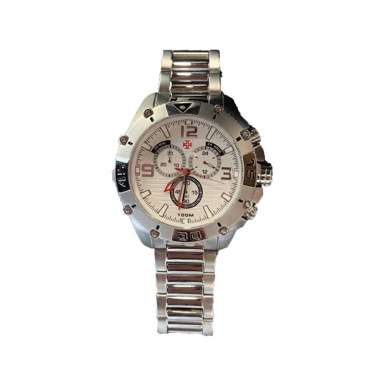 Relógio Vasco - Prata