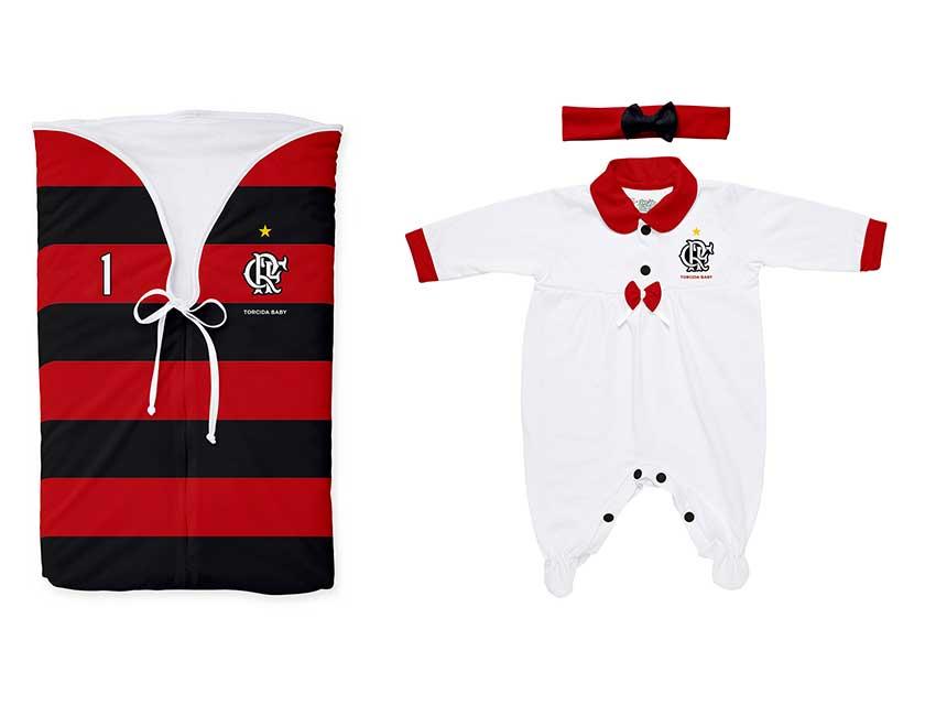 Saída de maternidade Feminina Flamengo