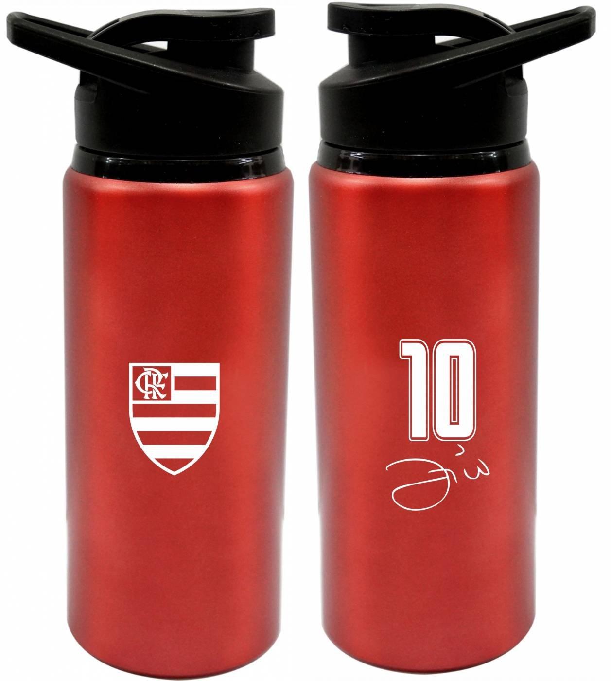 Squeeze Flamengo Zico 600 ml - Vermelha