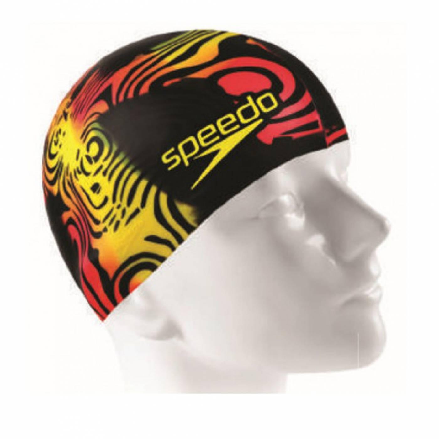 Touca de natação Flat Cap Special Edition Speedo - Tribal