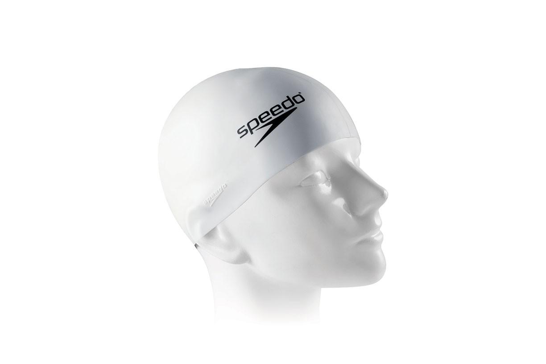 Touca de natação Flat Swim Cap Speedo - Branco