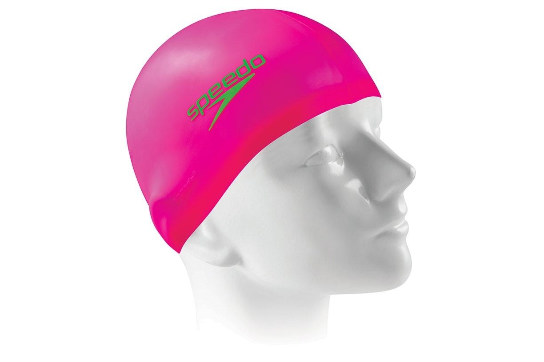 Touca de natação Flat Swim Cap Speedo - Rosa Neon