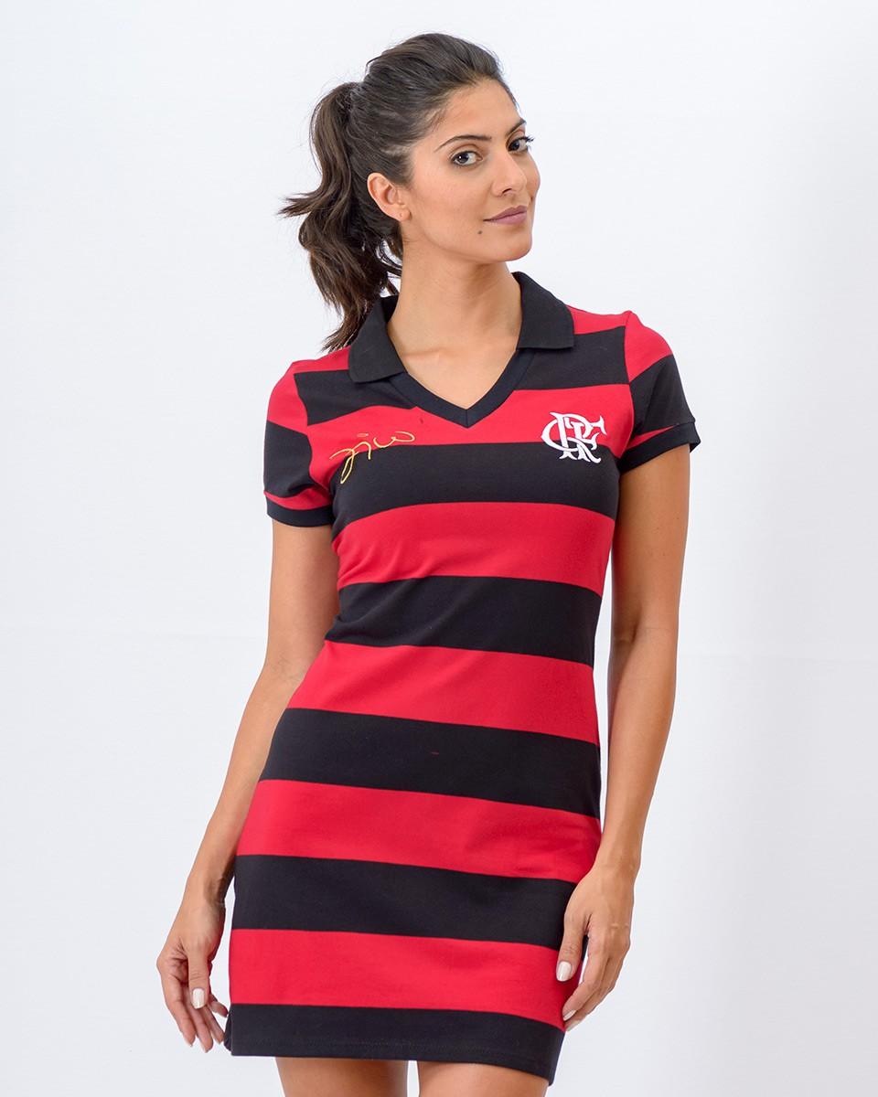 Vestido Flamengo Zico - Milly