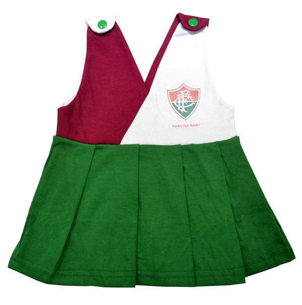 Vestido Fluminense bebê .