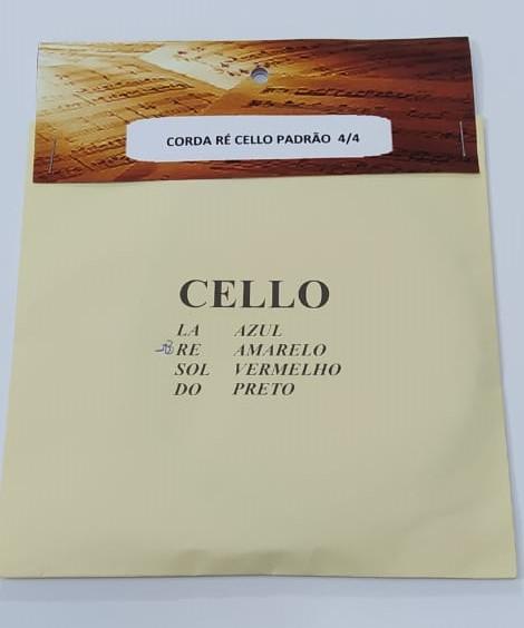 Corda Re Avulsa para Cello