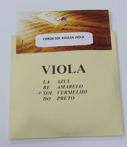 Corda Sol Avulsa para Viola