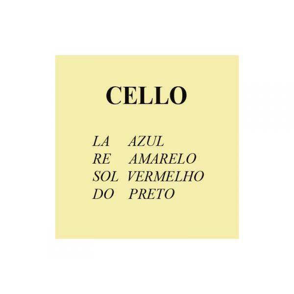 Encordoamento para Cello Mauro Calixto Tradicional