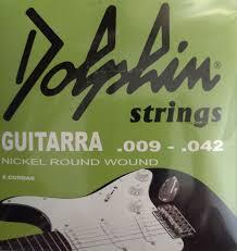 Encordoamento para Guitarra strings  Dolphin