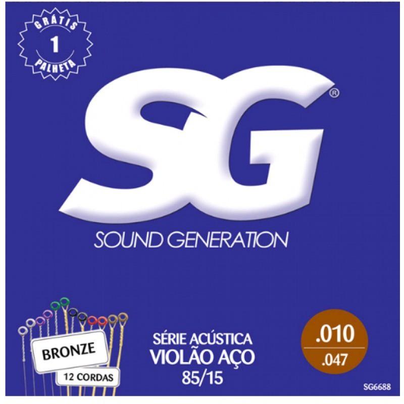 Encordoamento para Violão Aço Sound Generation