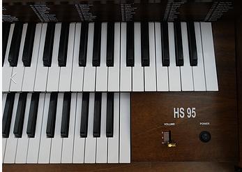 Orgao Eletrônico HS-95 Harmonia
