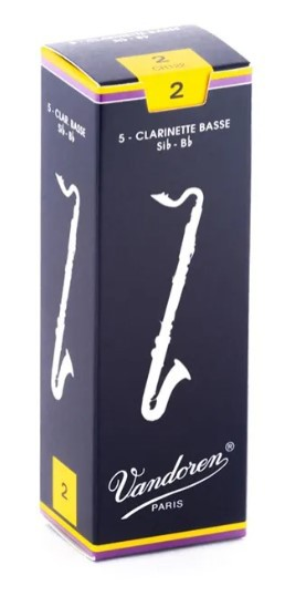 Palheta para Clarinette Baixo - Clarone Vandoren Tradiciolnal