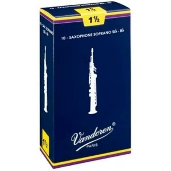 Palheta para Saxophone Soprano Vandoren Tradicional